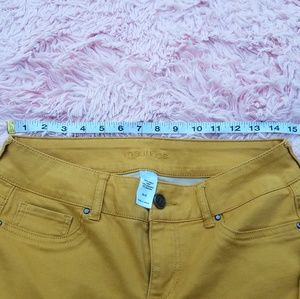 Maurices Jeans - MAURICES JEAN PANT SKYNNY MUSTARD SIZE M